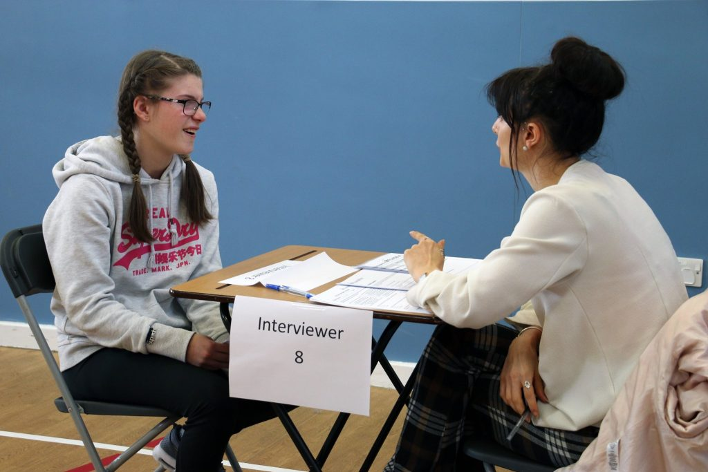MOCK INTERVIEWS – Oakfield High School and College